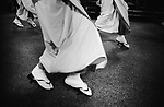 Japanese women and girls dance Awaodori, dance festival in Tokushima, Shikoku. Awaodori is one of the biggest traditional dance festival in Japan.<br /> <br /> Les femmes et les filles japonaises dansent Awaodori, festival de danse à Tokushima, Shikoku. Awaodori est l'un des plus grands festivals de danse traditionnelle au Japon.