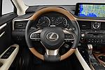 Car pictures of steering wheel view of a 2021 Lexus RX 350L 5 Door SUV Steering Wheel