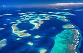 Au sud de la Nouvelle Caledonie, reserve marine integrale Yves merlet