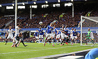 Pictured: Saturday 22 March 2014<br /> Re: Barclay's Premier League, Everton v Swansea City FC at Goodison Park, Liverpool, UK.
