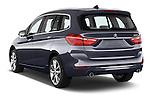 Car pictures of rear three quarter view of 2015 BMW 2 Series Gran Tourer Luxury 5 Door Mini Mpv Angular Rear