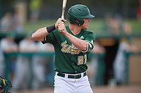 USF Bulls left fielder Garrett Zech (27) at bat during a game against the Dartmouth Big Green on March 17, 2019 at USF Baseball Stadium in Tampa, Florida.  USF defeated Dartmouth 4-1.  (Mike Janes/Four Seam Images)