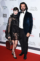 Chanel Joan Elkayam and Christian Vit<br /> arriving for the Float Like a Butterfly Ball 2019 at the Grosvenor House Hotel, London.<br /> <br /> ©Ash Knotek  D3536 17/11/2019