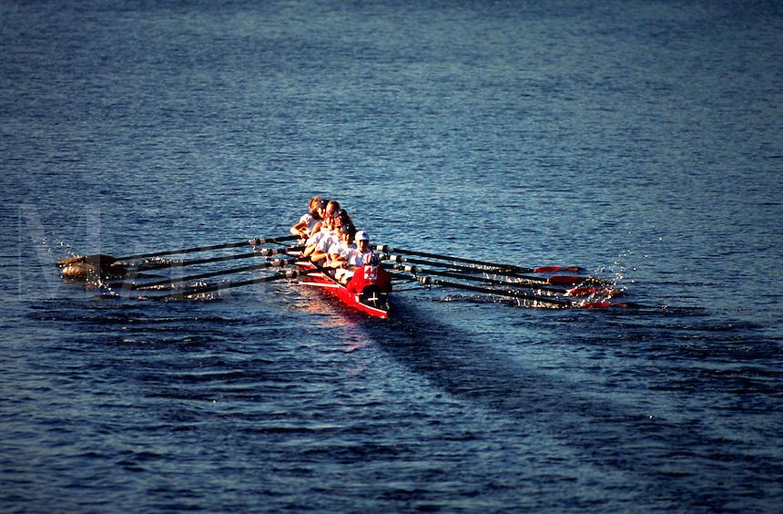 Head of the Charles Regatta rowing team.