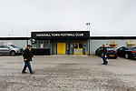 Exterior view. Hucknall Town v Heanor Town, 17th October 2020, at the Watnall Road Ground, East Midlands Counties League. Photo by Paul Thompson.