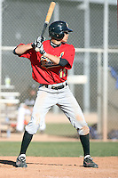 Devon Conley, New Mexico Junior College in action against the Gateway Community College Geckos at Gene Autry Park, Mesa, AZ - 01/29/2011.Photo by:  Bill Mitchell/Four Seam Images.