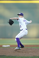 Winston-Salem Dash starting pitcher Jimmy Lambert (12) in action against the Salem Red Sox at BB&T Ballpark on April 20, 2018 in Winston-Salem, North Carolina.  The Red Sox defeated the Dash 10-3.  (Brian Westerholt/Four Seam Images)