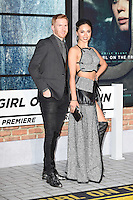 "Neil Jones and Katya Virshilas<br /> at the premiere of ""The Girl on the Train"", Odeon Leicester Square, London.<br /> <br /> <br /> ©Ash Knotek  D3156  20/09/2016"