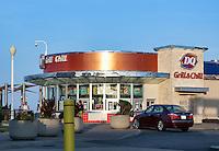 Dairy Queen franchise in Virginia Beach, Virginia, USA