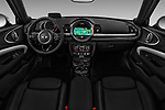 Stock photo of straight dashboard view of 2017 MINI Cooper Clubman-S-ALL4 5 Door Wagon Dashboard