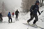 ski de rando. Gardiole du Roux d'Abries (2611 m)