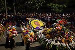 COLOMBIA-Antioquia-Silleteros parade in Medellin