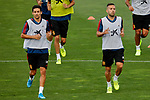 Jesus Navas and Jordi Alba during the Trainee Session at Ciudad del Futbol in Las Rozas, Spain. September 02, 2019. (ALTERPHOTOS/A. Perez Meca)