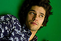 Ben Whishaw, actor on the set of Cock at The Royal Court Theatre Upstairs on  18/11/09. CREDIT Geraint Lewis