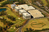 Charlotte aerial photography - October 2010 - of the Ballantyne Corporate Center