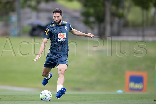 12th November 2020; Granja Comary, Teresopolis, Rio de Janeiro, Brazil; Qatar 2022 World Cup qualifiers; Felipe of Brazil during training session