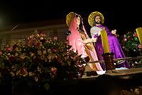 EL CERRITO - COLOMBIA: 18-04-2018. Imágenes religiosas son vistas durante el jueves santo en la población de Cerrito, Valle del Cauca, Colombia, de la semana santa para los cristianos. / religious images are seen during the holy thursday in the town of Cerrito, Valle del Cauca, Colombia as part of Easter Week to the Christians. Photo: VizzorImage / Gabriel Aponte / Staff