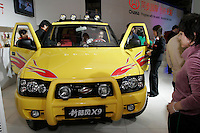 A Lifan Landwind X9 is shown in The Beijing International Automobile Exhibition..19 Nov 2006