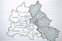 Berlin: The Division into Eastern and Western Zones. METROPOLIS, p. 313. Reference only.