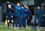 Partick Thistle v St Johnstone…23.02.16   SPFL   Firhill, Glasgow<br />Tommy Wright shouts instructions<br />Picture by Graeme Hart.<br />Copyright Perthshire Picture Agency<br />Tel: 01738 623350  Mobile: 07990 594431