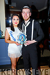 James O'Mahoney and Katelyn Galvin winner of the Judges vote , in the Ballymac Strictly Love dancing in the Ballygarry House Hotel on Saturday.
