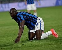 Victor Osimhen of Napoli  during the  italian serie a soccer match,Spezia Inter Milan at  the STadio Picco in La Spezia Italy ,