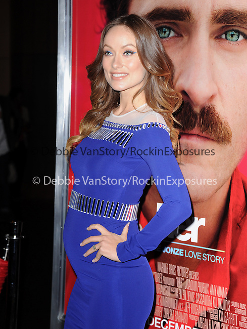 "LOS ANGELES, CA - December 12: Olivia Wilde arrives at The Warner Bros' Pictures L.A. Premiere of ""her"" held at The DGA in West Hollywood, California on December 12,2013                                                                               © 2013 Hollywood Press Agency"