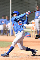 Jesus Morelli, Chicago Cubs 2010 minor league spring training..Photo by:  Bill Mitchell/Four Seam Images.