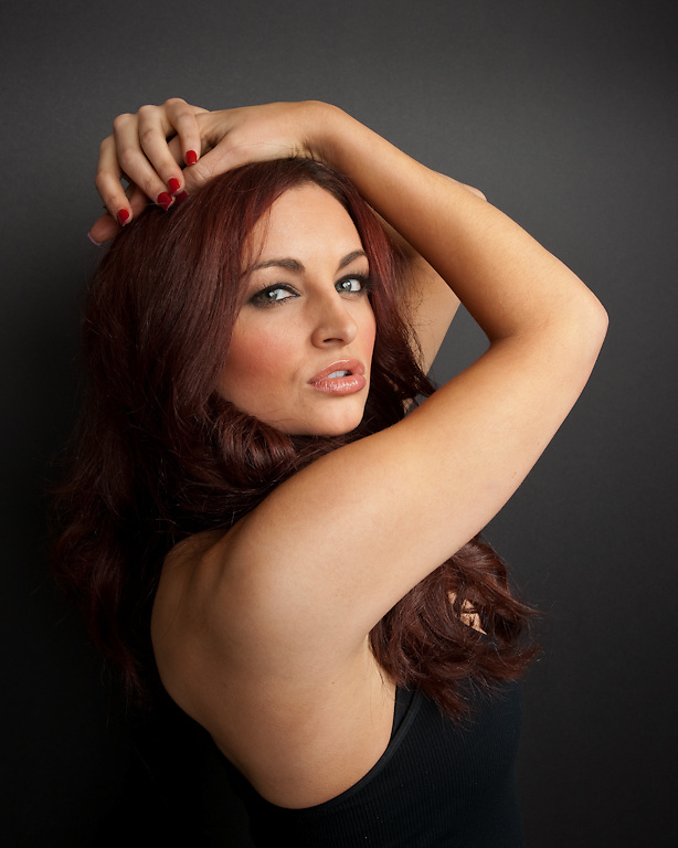 WWE Diva Maria Kanellis photographed for The Creative Coalition at Haven House in Beverly Hills, California on February 18, 2009