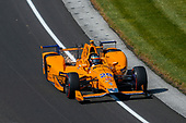 Verizon IndyCar Series<br /> Indianapolis 500 Carb Day<br /> Indianapolis Motor Speedway, Indianapolis, IN USA<br /> Friday 26 May 2017<br /> Fernando Alonso, McLaren-Honda-Andretti Honda<br /> World Copyright: Jake Galstad<br /> LAT Images