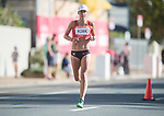 *This image must be credited to Ian Cook Sportingwales and can only be used in conjunction with this event only*<br /> <br /> 21st Commonwealth Games - Marathon - Day 11 - 11\04\2018 - Gold Coast City - Australia