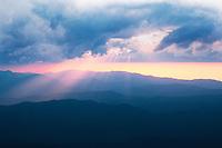 Sunset at Roan High Bluff, Roan Highlands