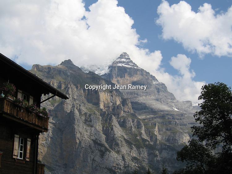 Dramatic Swiss Alps