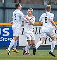 Ayr Utd's Neil McGregor celebrates after he scores Ayr's second goal.