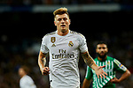 Toni Kroos of Real Madrid during La Liga match between Real Madrid and Real Betis Balompie at Santiago Bernabeu Stadium in Madrid, Spain. November 02, 2019. (ALTERPHOTOS/A. Perez Meca)