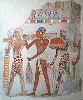Egyptian Tomb Paintings:  The Products of Tropical Africa, c. 1400 BC.  Trustees of the British Museum.  Reference only.