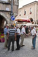 Europe/France/Midi-Pyrénées/32/Gers/Fleurance: Jour de marché