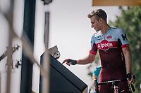 Marcel Kittel (DEU/Katusha-Alpecin) signing on<br /> <br /> Stage 7: Fougères > Chartres (231km)<br /> <br /> 105th Tour de France 2018<br /> ©kramon