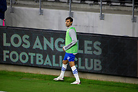 LOS ANGELES, CA - SEPTEMBER 02: Chris Wondolowski #8 of the San Jose Earthquakes during a game between San Jose Earthquakes and Los Angeles FC at Banc of California stadium on September 02, 2020 in Los Angeles, California.