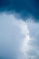 Backdrop of a stormy sky, Maria la Gorda, Cuba.