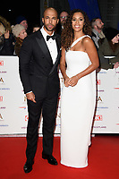 Marvin and Rochelle Humes<br /> arriving for the National TV Awards 2019 at the O2 Arena, London<br /> <br /> ©Ash Knotek  D3473  22/01/2019