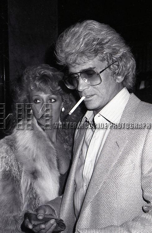 Michael Landon and Cindy Landon attending a Broadway show on November 2, 1981  in New York City.