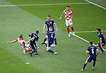 22.06.2021 Croatia v Scotland: Nikola Vlasic scores