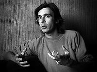 FILE PHOTO - Zacharie Richard en 1977<br /> <br /> PHOTO :  Andre Boucher - Agence quebec Presse<br /> <br /> HI RES Sur demande - aucune restriction