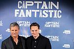 "American actor Viggo Mortensen and the director of the film, Matt Ross attends to the presentation of the film ""Captain Fantastic"" at Ursa Hotel in Madrid. September 11, Spain. 2016. (ALTERPHOTOS/BorjaB.Hojas)"