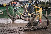 Super splashy race conditions at the Superprestige cyclocross in Hoogstraten (BEL) / 2019<br /> <br /> Elite Men's Race<br /> <br /> ©kramon