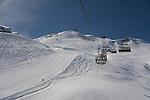 Seekopf Chairlift at Zurs Ski Areas, St Anton, Austria