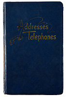 BNPS.co.uk (01202 558833)<br /> Pic: Juliens/BNPS<br /> <br /> Film icon Marilyn Monroe's personal address book which reveals who she was close to at the height of her career has emerged for sale for £23,000. ($30,000)<br /> <br /> The navy blue leather book contains a host of famous names including crooner Frank Sinatra and the 'Of Mice And Men' author John Steinbeck.<br /> <br /> Others listed were fellow actresses Eva Marie Saint and Shelley Winters, as well as acclaimed filmmakers John Huston and Billy Wilder.<br /> <br /> Also a phonecall away were the cosmetic empire founder Elizabeth Arden, the designer Jean Louis who was responsible for her 'Happy Birthday Mr President' dress, as well as the gossip columnist Hedda Hopper, writer Saul Bellow and photographer Richard Avedon.<br /> <br /> The 1958 address book, which contains Monroe's notations, was kept by her longtime New York secretary May Reis. It has since passed into the hands of a private collector who is selling it with Los Angeles based Julien's Auctions.
