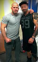 2020 12 29 Gym Owner Nick Newton, Llandrindod Wells, Wales, UK