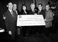 Montreal (Qc) CANADA -Nov 16 2009-<br /> Fondation of stars fundraiser at REstaurant du Vieux-Port